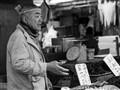 Fishmonger in Ameyoko Market, Tokyo