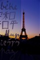 The Eiffel tower & Wall for peace