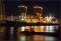 """Seatrade's reefer vessel """"Polar Light"""" discharging at the fruit terminal in the Port of Hamburg, Germany"""