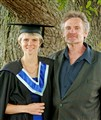 Kath Graduation. Proud Father
