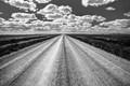 An Endless Road in South Dakota