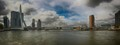The Erasmus bridge in Rotterdam. The nickname of the bridge is the Swan.