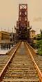 Rail Bridge: downtown Tampa FL