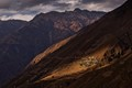 High village of the Himalayas