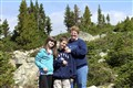 Family at Whistler