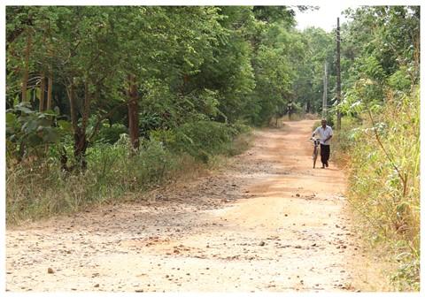 A Red Road in Sri Lanka  II