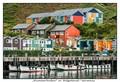 """Hummerbuden"" at harbourfront in Helgoland"