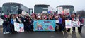 Millions, including the Rhode Island Chapter, arrive in Washington, DC on Saturday, January 21, 2017, for The Women's March on Washington