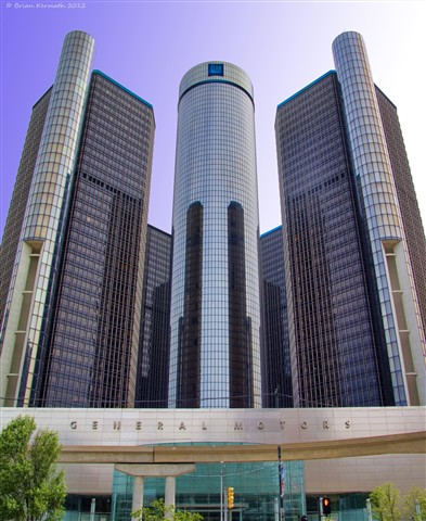 General Motors Headquarters, Renaissance Center: EHDesigns ...