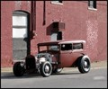 Primered Hot Rod