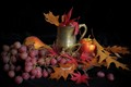 Autumn colors, still life study