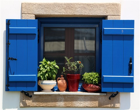prozor, Grčka