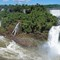 Iguazu River Over The Falls