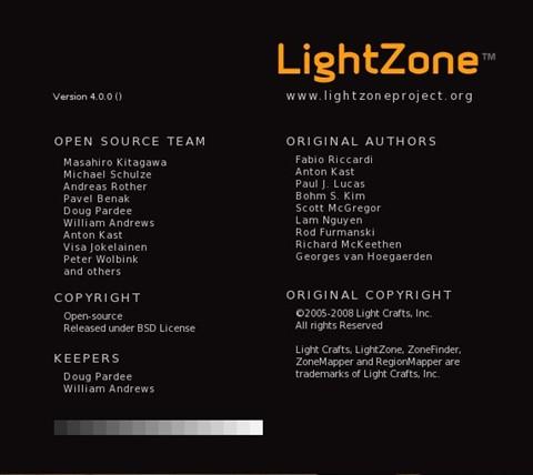 LightZone Credits