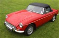 MGB Roadster in Red. Simply beautiful.