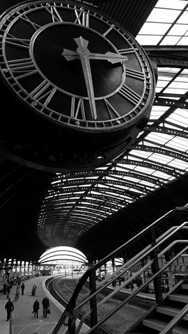 York Station Clock