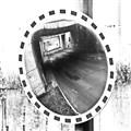 Street mirror in Chomutov