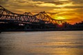 Sunset in Natchez, MS.