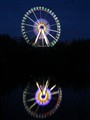 Ferris wheel - Reflection in a lake
