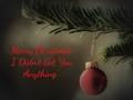 An Honest Christmas Card