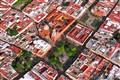 SANTIAGO,  a  Vista  de  Pájaro