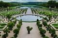 Garden at Versailles royal castle - France