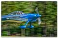 Cool Blue Plane