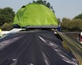 Camping on top of a car