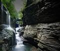Photo of Rainbow Falls at Watkins Glen State Park, Watkins Glen, NY