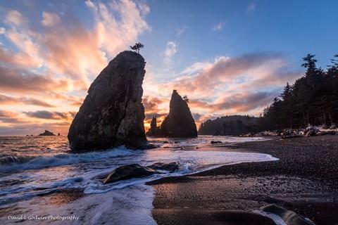 Sunset at Split Rocks