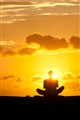 New Year:  sunrise meditation