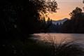 Dawn at Santiam River