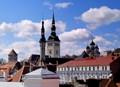 Old Tallinn roofs
