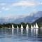 Zeller See, Salzburgerland, Austria.