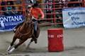 Ladies Barrel Racing at Luxton Rodeo