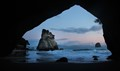 Pre dawn Cathedral Cove
