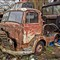 Leyland Karrier in scrapyard