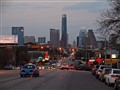 South Congress Avenue, Austin, TX (Looking North toward the state capital )