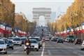 Champs Elysées and Arc de Triomphe