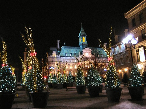 X-mas Montreal City Hall 4570