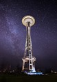 Space Needle and the Milky Way