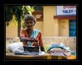 Ironing Lady. India.