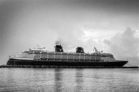 old ocean liner