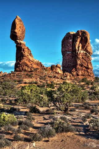 Balanced Rock in the Arches