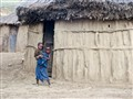Maasai Children, outside their house, Tanzania