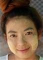 Moon women with tanaka face paint