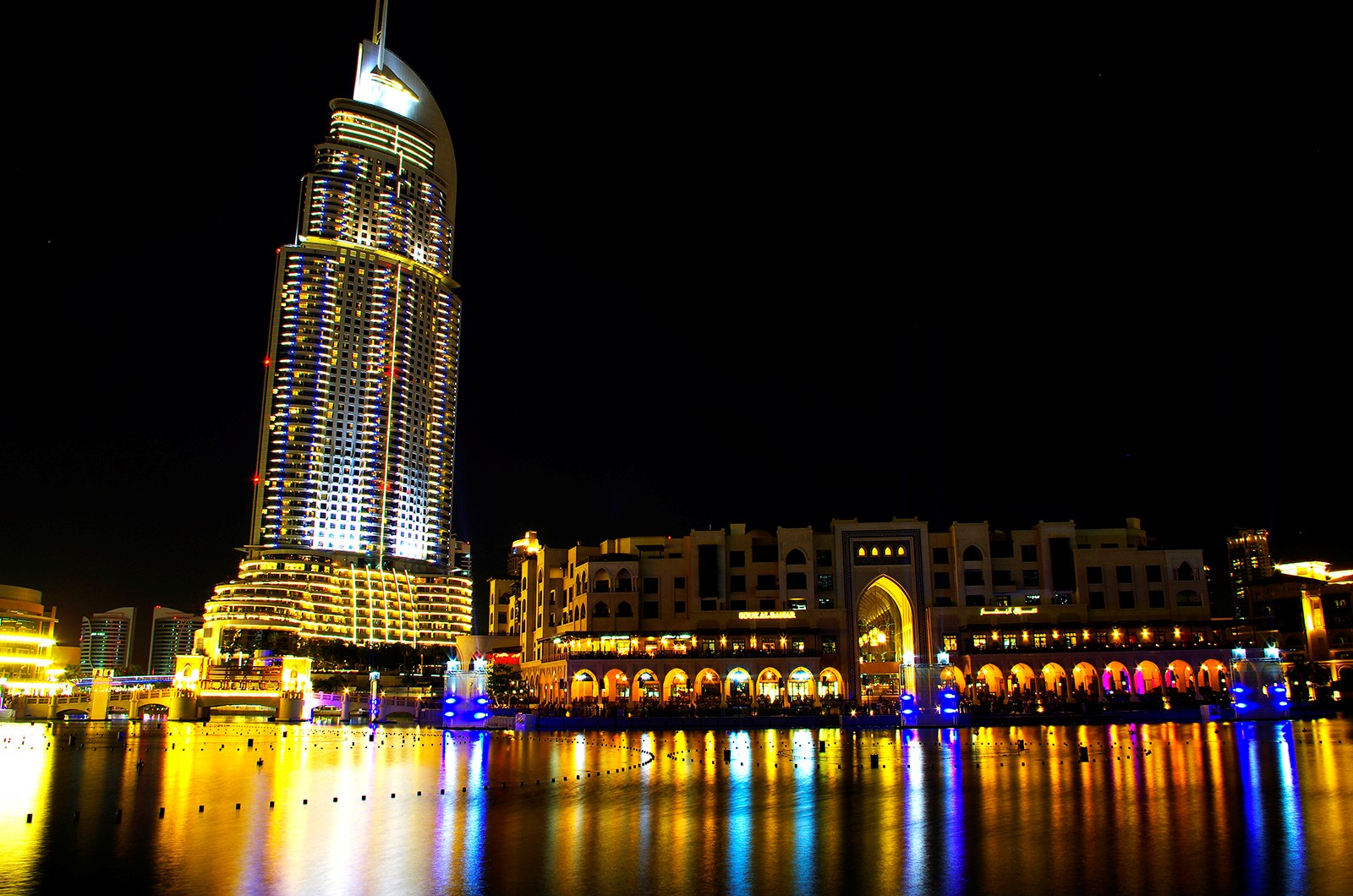 The address hotel dubai mall atmosphere symphonies for Address hotel dubai
