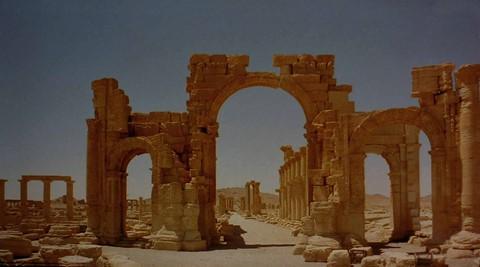 Main Arch Palmyra Syria