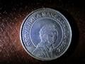 Macedonian 50 Denar Coin