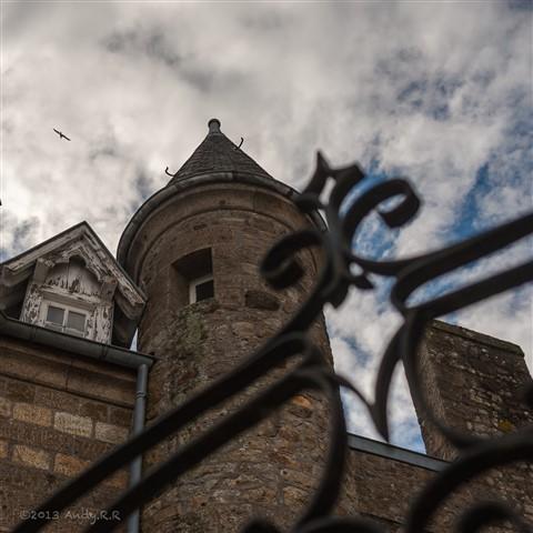 Inside Mont Saint Michel 1